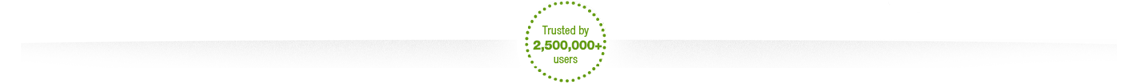 1 000 000 users and counting