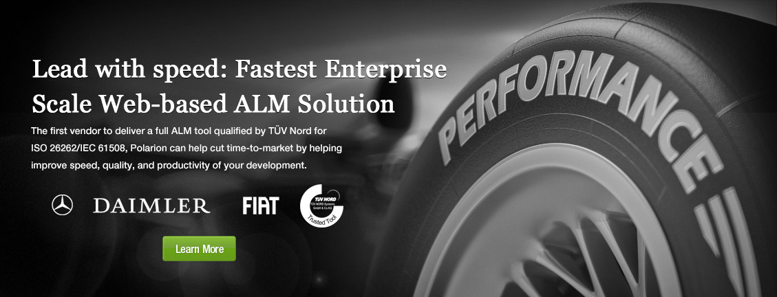 Lead with speed: Fastest Enterprise Scale Web-based ALM Solution